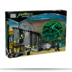 Alien Agency The Arrival Hangar 18 Playset