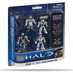 Halo Arctic Combat Unit Unsc White