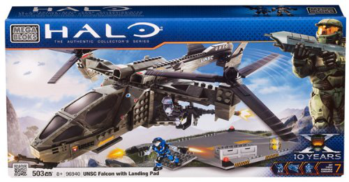 Halo Unsc Falcon With Landing Pad